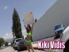 Hawt Redhead Kiki Vidis gets screwed hard!
