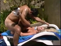 Outdoor anal with pierced nipples beauty