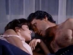 Retro sex with a charming gal in underware