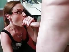 Samantha Ryan shoves this hard dick down her face aperture
