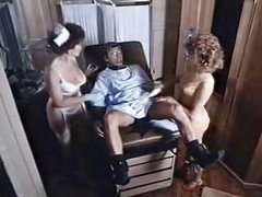 Three-some coition in the medical room