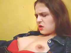 Watch now home-video of heartless brunette hair with large pantoons and hard nipps getting plenty of incredible pleasure.