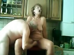 Old pair still like to have loads of enjoyment in their sex life which u can see in this private porn movie. She gets licked and screwed in her old slit while he pleasures his old cock.