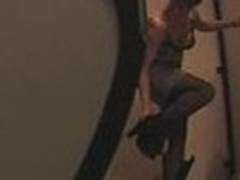 Spy livecam woman stripping