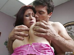 This hot brunette MILF cannot stop herself from reacting to the young guy sitting across from him. therefore, that sweetheart moves in for the kill and in a short time sufficiently that sweetheart has him exactly where that sweetheart wants. Unable to stop himself. One time that sweetheart have her, this guy will do everything that that sweetheart wishes him to do and then some.