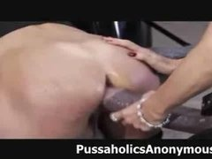 Fisted and Drilled with a Massive Strapon