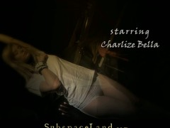 Tightly tied for a hard s&m play, Charlize knows that her only usage and duty now is to please master's wants. This Sweetheart screams of pang whilst the slap touches her cute wazoo but all this chick can do is to obey