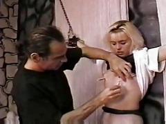 Castigate a hot slave gal