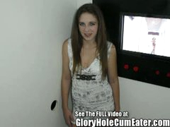 Autumn Winters Blows Dudes & Receives Fucked at a Tampa Gloryhole