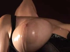 Dungeon wench in darksome corset has fun sex
