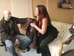 Lustful hubby doesn't desire to receive busted banging the daughter